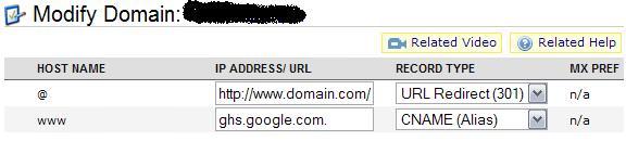 namecheap domain redirection