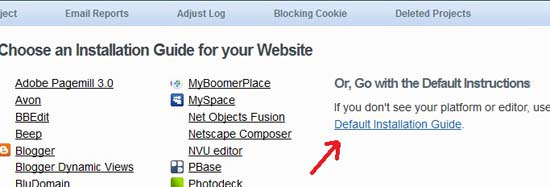 Installation Guide How to Add StatCounter in Blogger or Wordpress Blog?