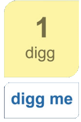 digg button in blogger and wordpress