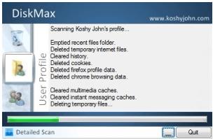 DiskMax-Make Window Fast, Delete Junk Files For Optimization