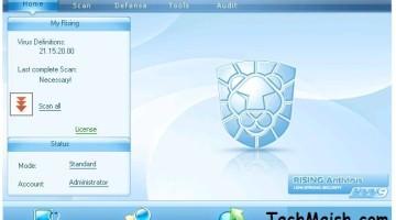 Rising Anti Virus 2010 9 Months Free Activated License Key Setup