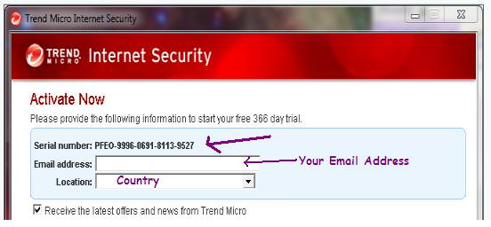 trend micro internet security Free Trend Micro Internet Security 2010 License Activation Key