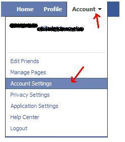 facebook account tips