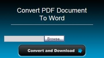 5 Free Online PDF to MS Word, Excel Converters