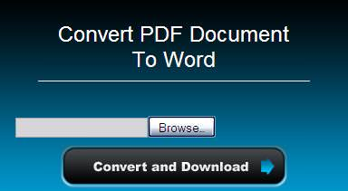 pdf to word converters