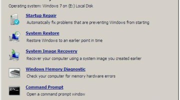 Windows 7 System Recovery Disc ISO- Recover Missing Files