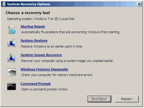 windows 7 system recovery Windows 7 System Recovery Disc ISO  Recover Missing Files