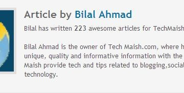 Add Author Bio In WordPress Thesis Theme- How To