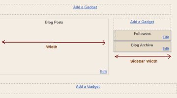 Adjusting the Sidebar and Posts Sections in Blogger