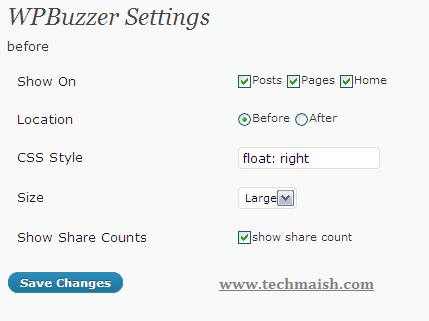buzz share count