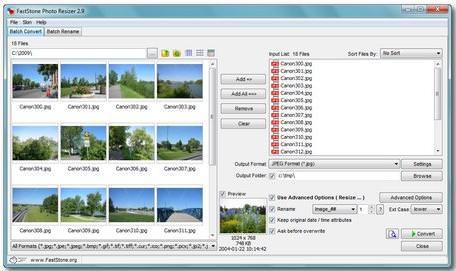 faststone image resizer