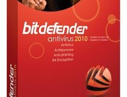 Bitdefender Anti Virus 2010 with 1 Year License Key- 14 August Promo
