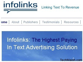 infolinks 5 Best In Text Advertising Networks