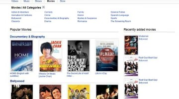 Watch Full Length Movies On YouTube- Movies Section Added
