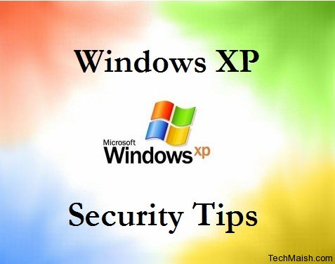 windows xp security tips