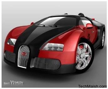 Bugatti Veyron Motor Car