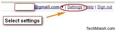 select setting