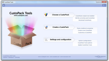 Customize Windows XP, Vista and 7 Using CustomPack Tools