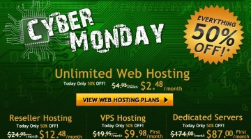 Cyber Monday HostGator Super Sale Offer Expiring in 17 Hours – Hurry UP