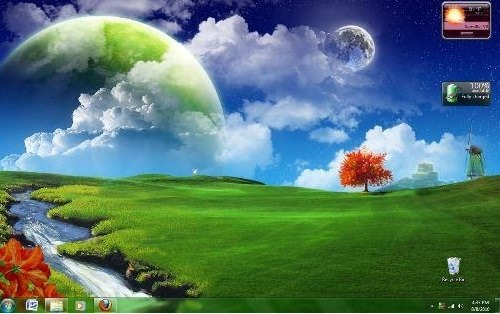 fantasy world1 20 Windows 7 Rocking and Smashing Themes