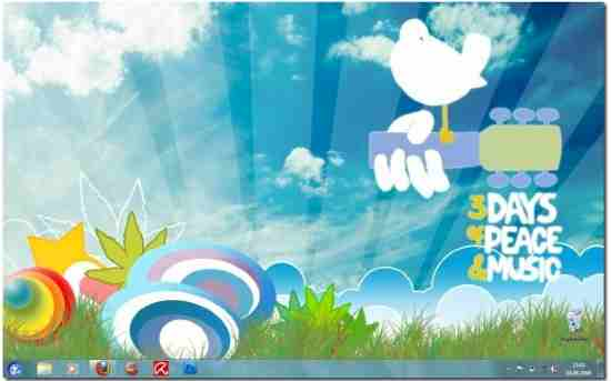 woodstock w7 theme