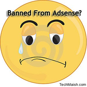 banned from adsense