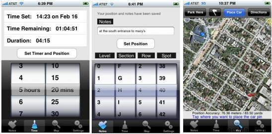 iphone driving apps