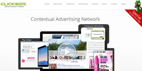 Clicksor 40 High Paying CPM Advertising Networks to Make Money in 2014