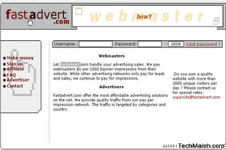 fast advert