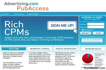 PubAccess 40 High Paying CPM Advertising Networks to Make Money in 2014