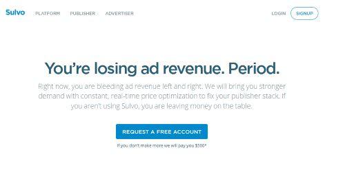 Sulvo Ad Network
