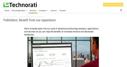 Technorati Media 40 High Paying CPM Advertising Networks to Make Money in 2014