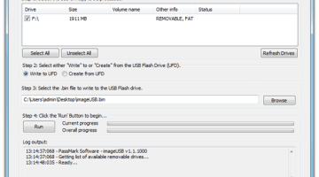 Create USB Image Using Free Image Creater Tool- ImagUSB