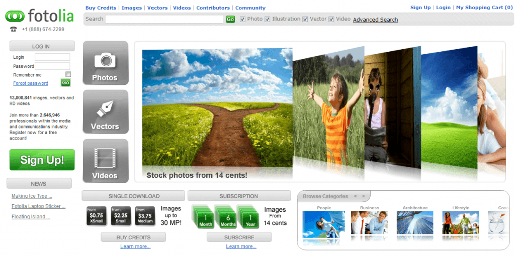 fotolia marketplace