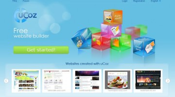 Ucoz- Free Website Builder