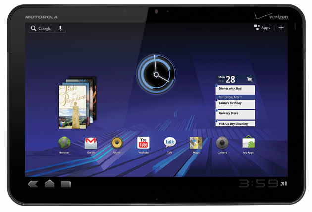 Motorola Xoom purchase