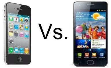 iPhone 4 vs Galaxy S2
