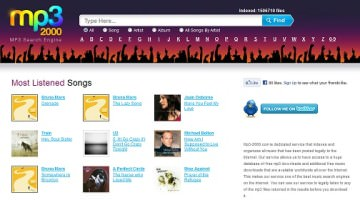 Get MP3 Music Online for Free With MP3-2000.net