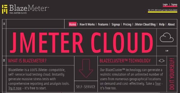 jmeter cloud testing