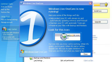 Windows Live OneCare Best For Computer Security