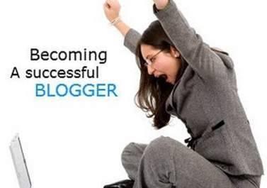 sucessful blogger