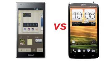 LG Optimus LTE2 vs. HTC One X