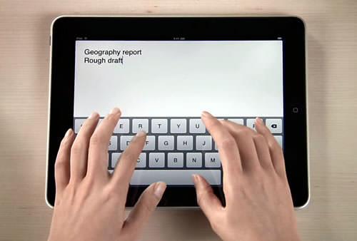 ipad editing