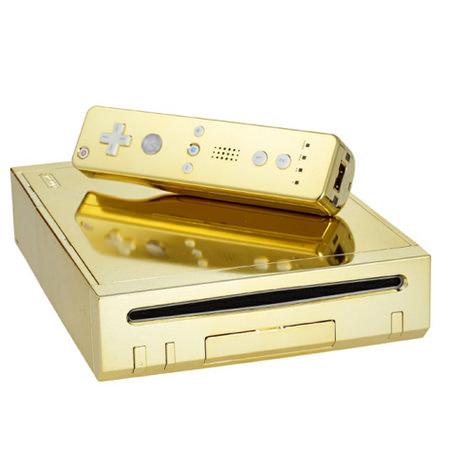 Gold Nintendo Wii