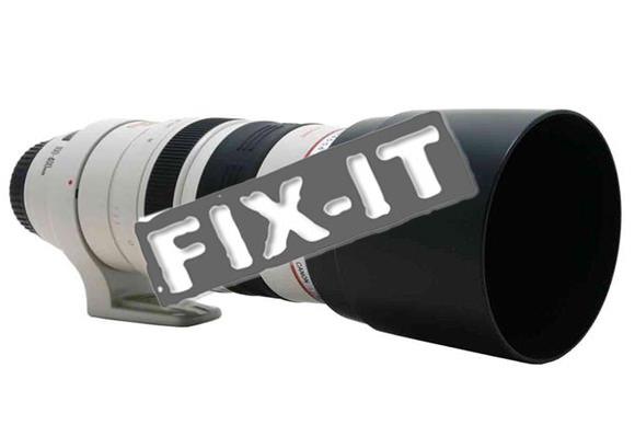 camera lens fix it