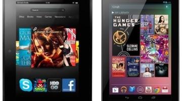 Amazon Kindle Fire HD Vs Google Nexus 7