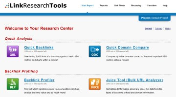 Find Out Bad Links and Stay Safe After Penguin Update- LinkResearchTools.com