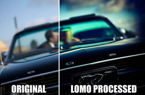 Lomo Effect Tutorial
