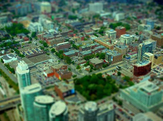 Tilt Shift Photoshop Tutorial