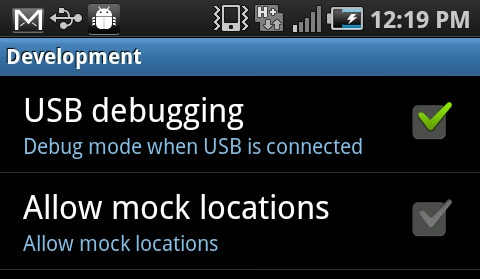 USB Debugging on Samsung Enabling USB Debugging on Samsung Devices